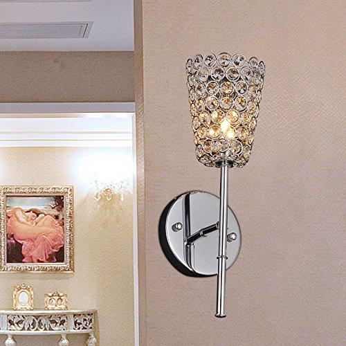 Art de mur de cristal de la lampe de chevet murale moderne et minimaliste