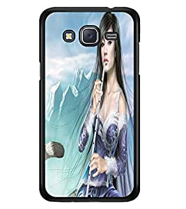 PRINTSWAG ANGEL GIRL Designer Back Cover Case for SAMSUNG GALAXY J5