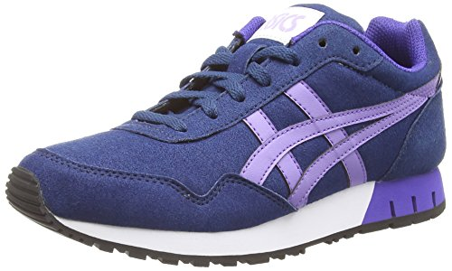 ASICS - Curreo, Sneakers Basse da donna, blu (dark blue/aster purple 5835), 41.5