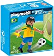 PLAYMOBIL Brazil Soccer Player Toy