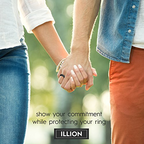 illion silicone wedding ring protects you and your band