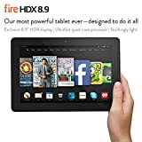 "Fire HDX 8.9 Tablet, 8.9"" HDX Display, Wi-Fi, 64 GB - Includes Special Offers"