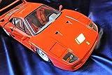 【フェラーリF40ポケール社1/8スケール!!】1/8 Ferrari F40 Pocher Rivarossi da collezione anni 90 testarossa