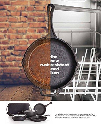 Sabatier Pre-Seasoned Rust Resistant Fry Pan, 8-Inch