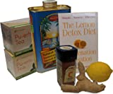 Lemon Detox Diet, Maple Syrup Grade B Pack - Madal Bal Natural Tree Syrup Complete Kit