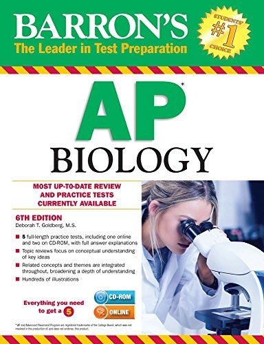 Barron's AP Biology with CD-ROM, 6th Edition (Barron's Ap Biology (Book & CD-Rom))
