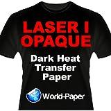 Laser 1 Opaque Dark Shirt Heat Transfer Paper 8.5x11 50