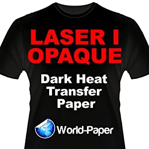 Laser 1 Opaque Dark Shirt Heat Transfer Paper 8.5x11 25