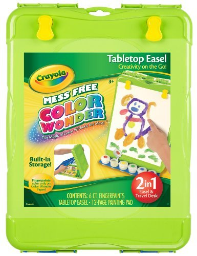 Markers Not Included. - Crayola Color Wonder Table Top Easel