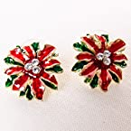Poinsettia Earring
