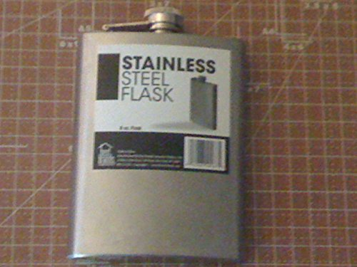 Drinkmate Stainless Steel Flask, 8 oz, Silver - 1