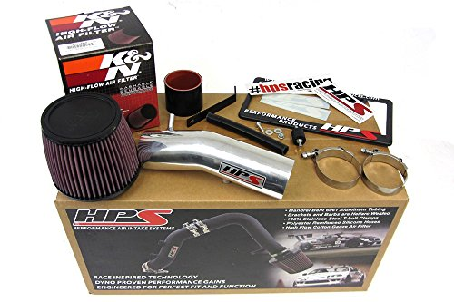 03-07 Honda Accord 3.0L V6 HPS Shortram Air Intake Kit + K&N Filter Short Ram Cool (2005 Acura Tl Intake Hose compare prices)