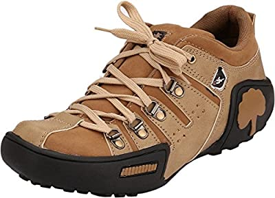 AFROJACK men's tree synthetic leather casual shoes