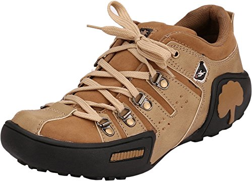 Afrojack Men's Beige Synthetic Casual Shoes - 7