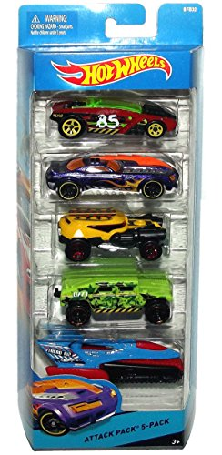 Hot Wheels City Attack Pack 5-Pack BFB32
