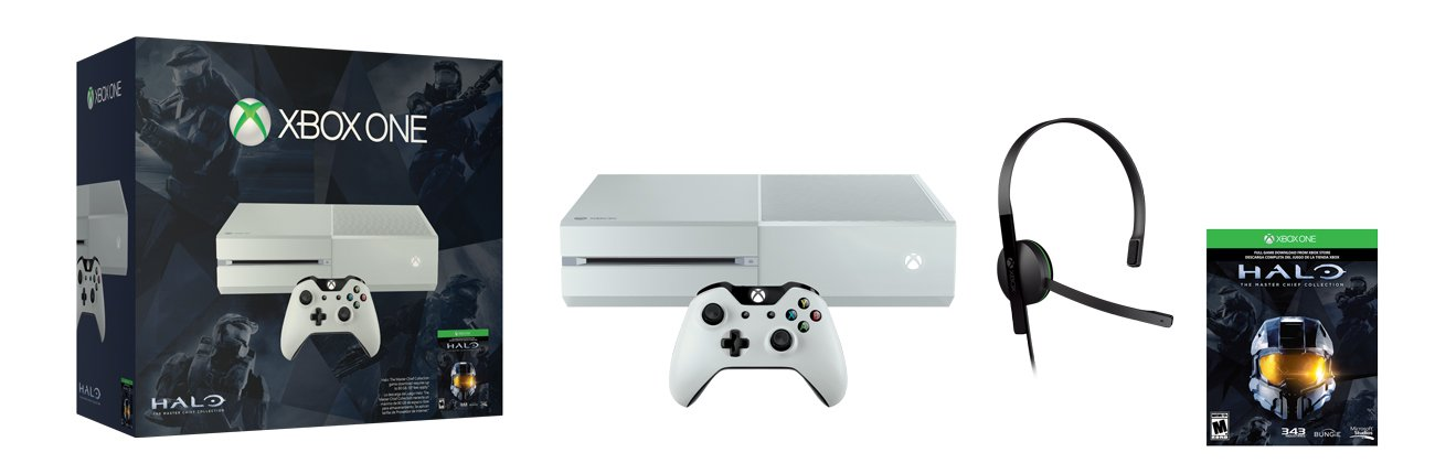 Фото Xbox One Special Edition Halo: The Master Chief Collection Bundle