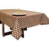 Cannigo 6 Seater Table Cover(Brown)