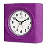 Acctim 14346 Vela Alarm Clock, Purple