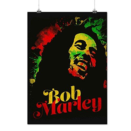 Bob Marley Musica divertimento Reggae Opaco/Lucida Poster A3 (42cm x 30cm) | Wellcoda