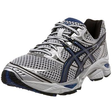 ASICS Men's GEL-Cumulus 12 Running Shoe,White/Royal/Black,12.5 4E US