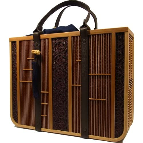 Amazon.com: Shizuoka Bamboo Crafts Cooperative - Bamboo Handbag Ryo (Cool Men) - Made in Japan: Clothing