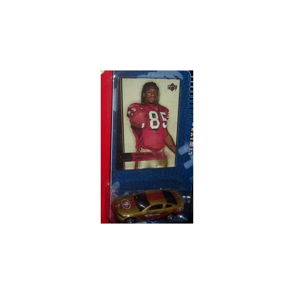 San Francisco 49ers Ford Mustang GT 2006 Upper Deck 1 64 Scale NFL Diecast Collectible with Vernon Davis Rookie Edition Trading Card Football Team Collectible