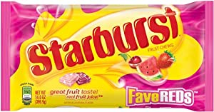 Starburst Fave Reds, 14-Ounce Bags (Pack of 6)