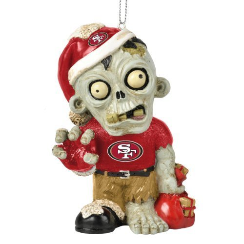 NFL 2014 Zombie Christmas Hanging Ornament 4