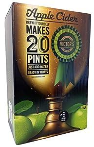 Victor's Drinks Apple Cider 20 Pint Kit