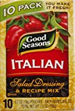 Good Seasons Italian Salad Dressing & Recipe Mix 0.7oz, 10 Pouches