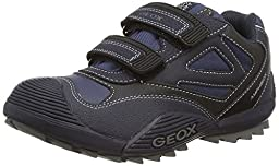 Geox J Savage ABX 3 Sneaker (Toddler/Little Kid/Big Kid), Navy/Avio, 24 EU (8 M US Toddler)