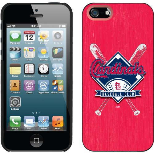 Special Sale St. Louis Cardinals - Bats design on a Black iPhone 5 Thinshield Snap-On Case by Coveroo