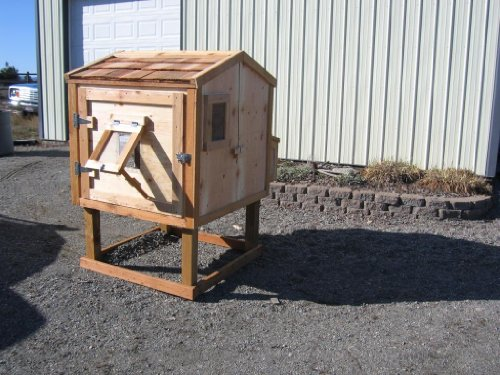 small-chicken-coop-construction-english-edition
