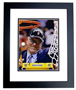 Jim Boeheim Autographed Hand Signed Syracuse Orangemen 8x10 Photo BLACK CUSTOM FRAME... by Real Deal Memorabilia