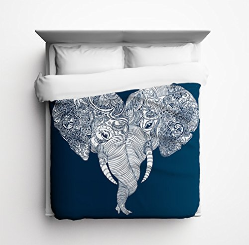 Buy Discount Sharp Shirter Punch Trunk Love, Elephant Heart Duvet Cover