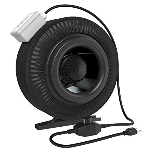 VIVOSUN 8 Inch 740 CFM Duct Inline Fan with Variable Speed Controller (8 Inline Duct Fan compare prices)