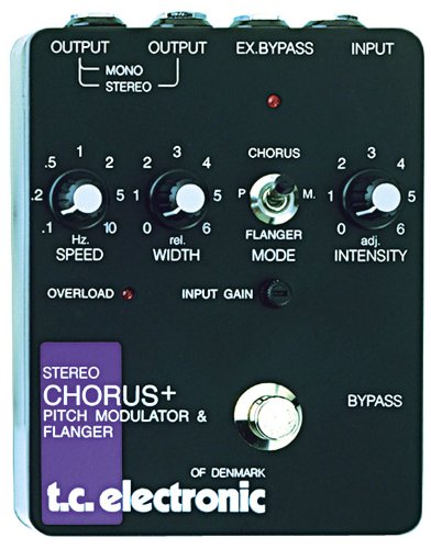 Tc Electronic Scf Pedal World Standard Stereo Chorus Flanger