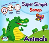 Super Simple Songs - Animals (CD includes printable support materials)