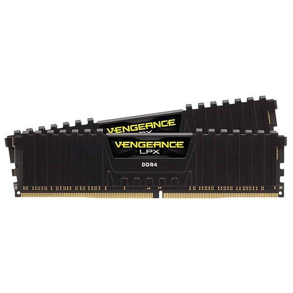 Corsair Vengeance LPX 16GB (2 X 8GB) DDR4 3600 (PC4-28800) C18 1.35V Desktop Memory - Black (Tamaño: 16 Gb)
