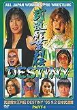 武道館女王列伝 DESTINY Part1 [DVD]