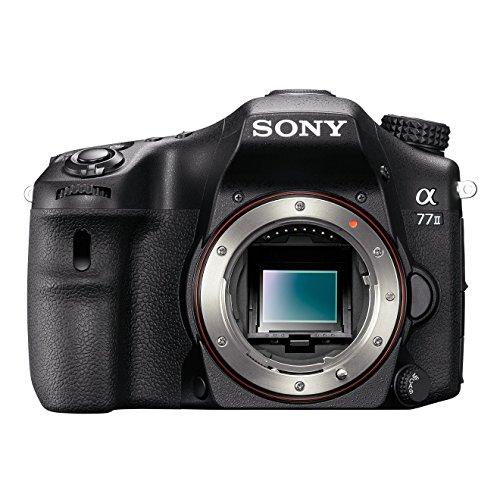 Sony Alpha 77M2 Fotocamera Digitale Reflex con Obiettivo Intercambiabile, Sensore APS-C CMOS Exmor da 24,3 Megapixel, Nero