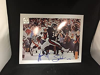 Walter Payton Autographed Signed Chicago Bears Photograph Inscribed Walter Personal Player Hologram