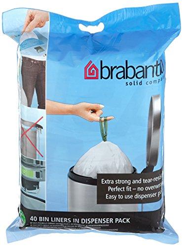 Brabantia Bin Liner G, 30 Litre - 40 Bags