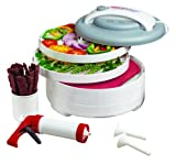 Nesco American Harvest FD-61WHC Snackmaster Express Food...