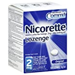 Nicorette Lozenges, 2 mg, Original Flavor, 108 ct.