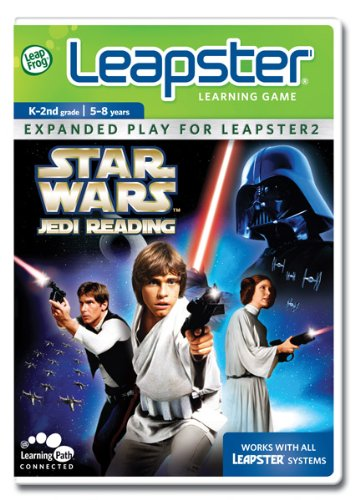 LeapFrog Leapster Learning Game Star Wars Jedi Reading - 1