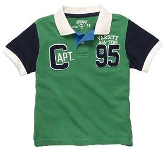 Buy OshKosh B'gosh Boys 2T-4T ''Varsity All-Star'' Short Sleeve Embellished Polo by OshKosh B'Gosh
