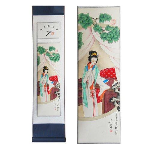 中国画---手绘中华才女李清照(因为手绘每幅都不同