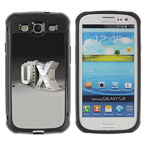 Zfresh Rugged Protective Case Cover Ux - Samsung Galaxy S3