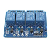 1 pc Practical 4 Channel 5V Relay Module for ARM PIC AVR DSP Electronic New